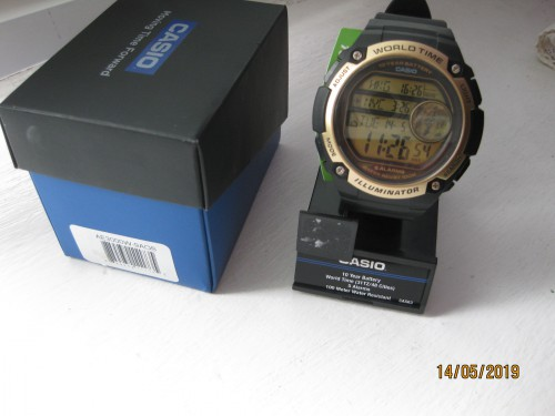 Часы Casio AE-3000W-9aos World Time - IMG_2736.JPG